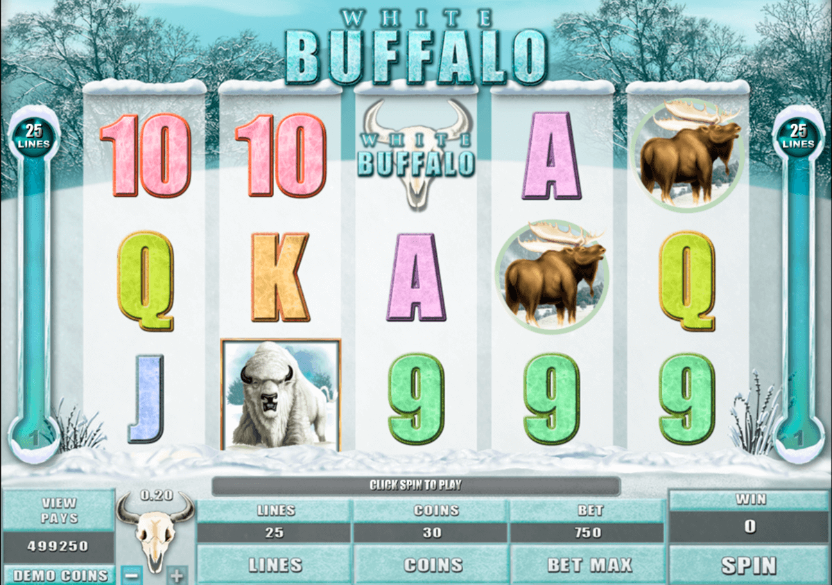 white buffalo microgaming
