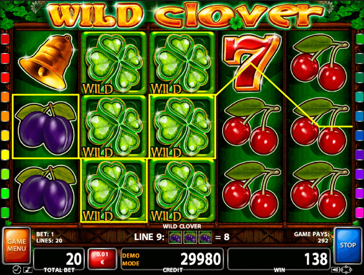 wild clover casino technology